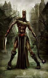 Zombie Warrior by FASSLAYER