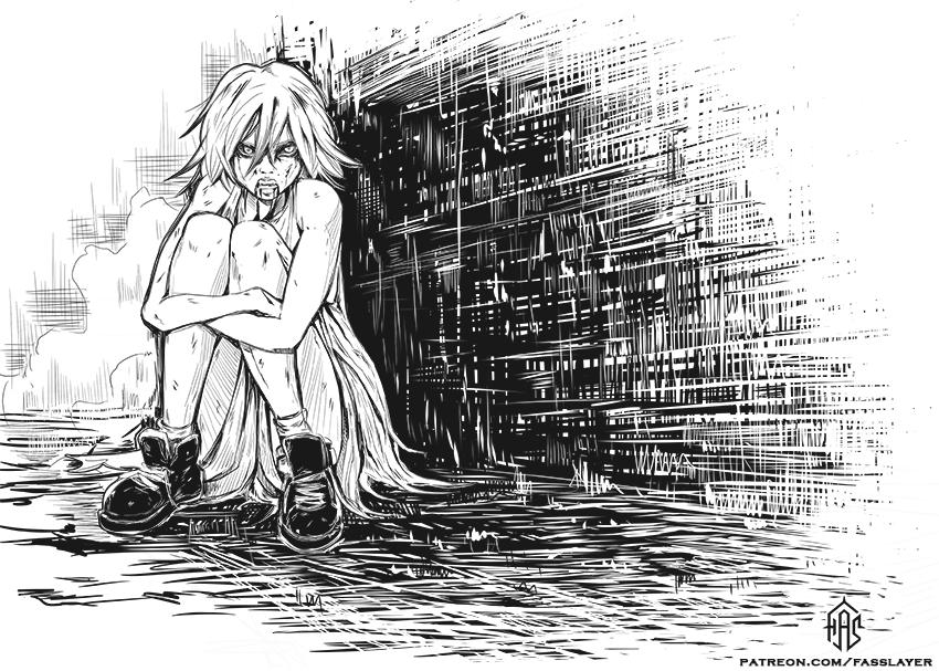 Vampire girl by FASSLAYER
