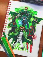 Green Lanterns by LarsRedfield