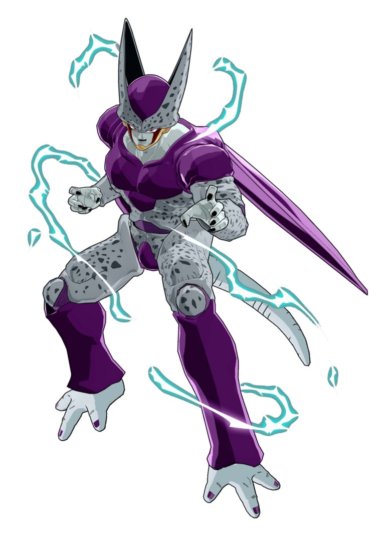 Super Perfect Cell Absorbs Frieza. by DeviantMarty on ...