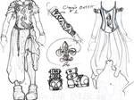 costume design - clary