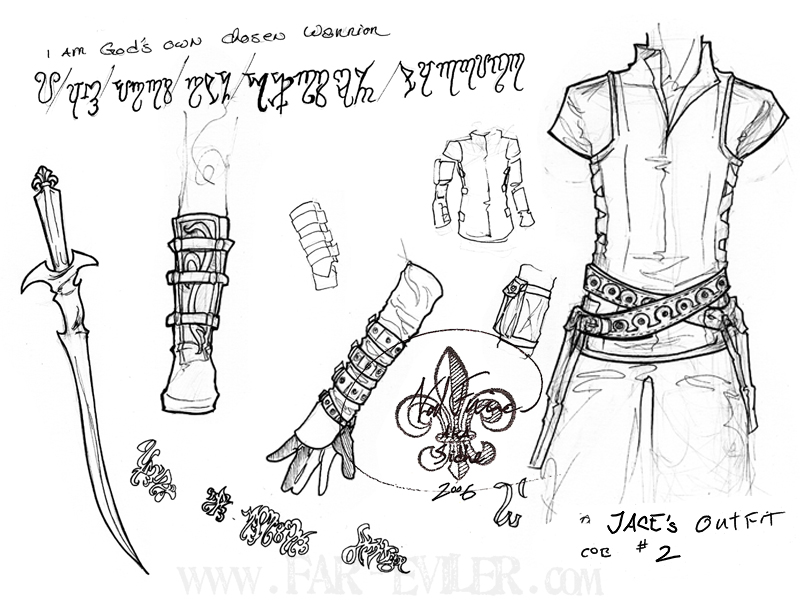costume design - jace by far-eviler