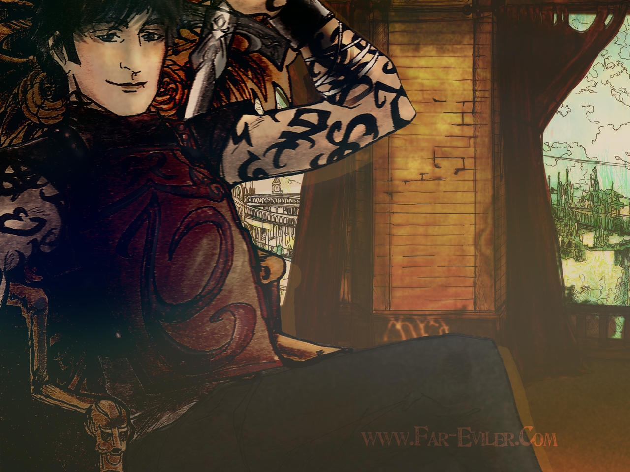 TMI - SEBASTIAN-WALLPAPER by far-eviler