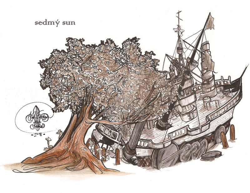 concept sketch - sedmy sun by far-eviler