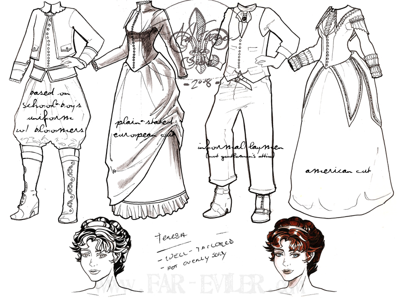 costume design - tessa by far-eviler