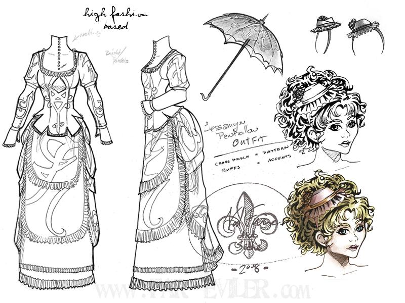 costume design - jessamine by far-eviler
