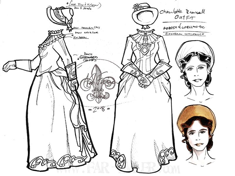 costume design - charlotte by far-eviler