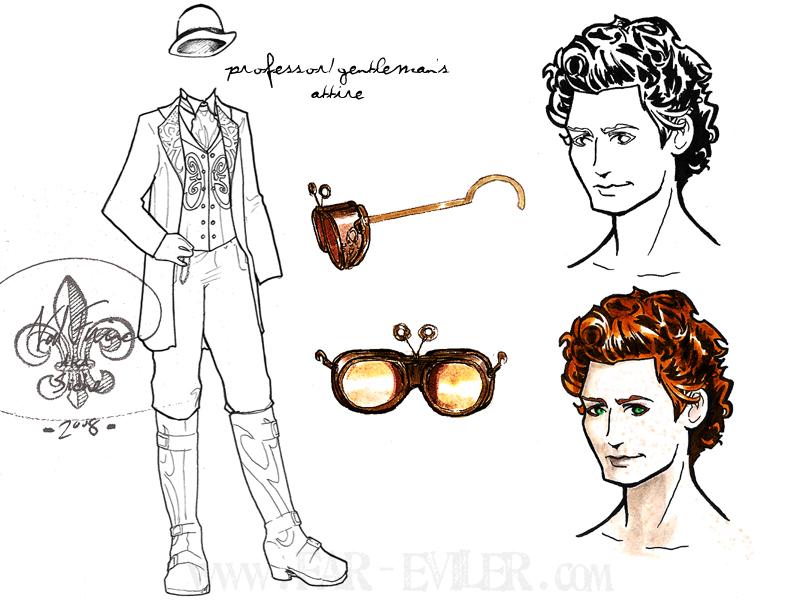 costume design - henry by far-eviler
