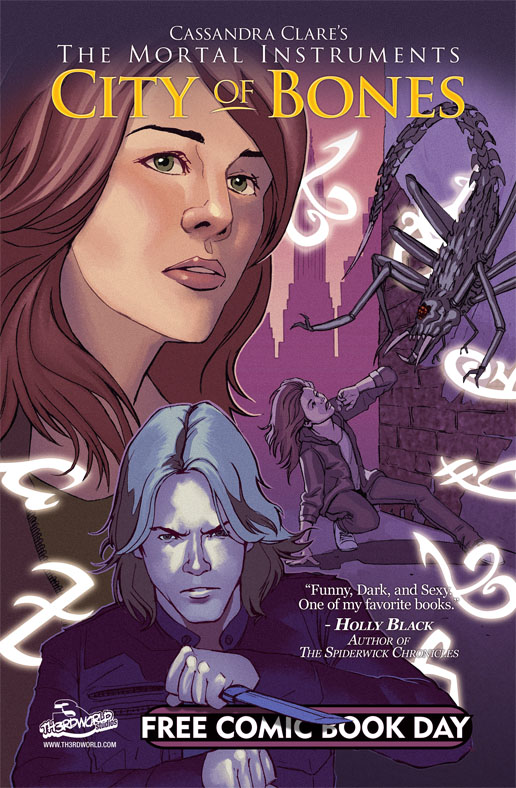 Mortal Instruments FCBD Cover by far-eviler