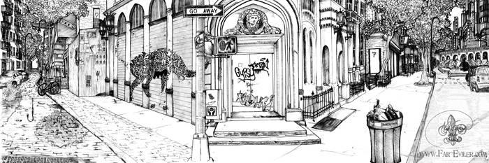 concept sketch - BG NYC