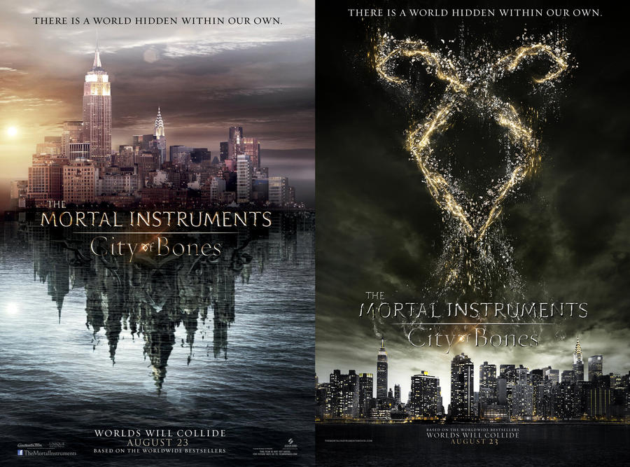 TMI:City of Bones - Film Poster(s) by far-eviler
