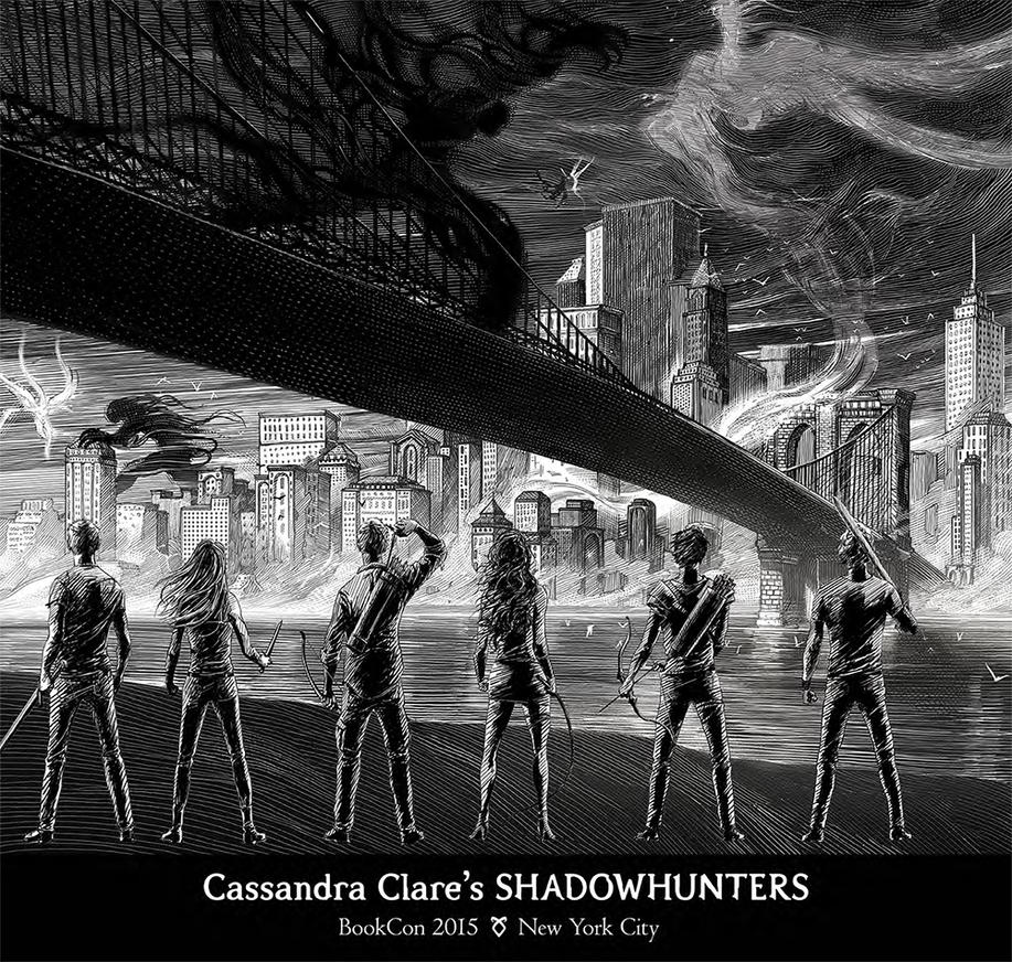 THE SHADOWHUNTERS SPINE by far-eviler