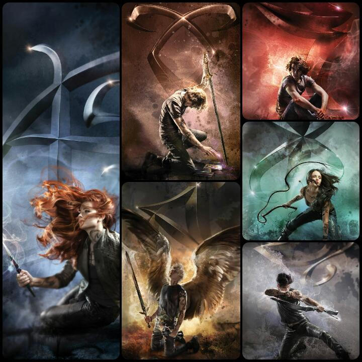 2015 Shadowhunters Re-Released Covers