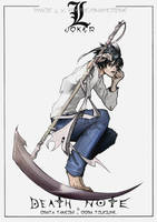Death Note - L by far-eviler