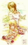 Shingeki no Kyojin: Ymir and Christa