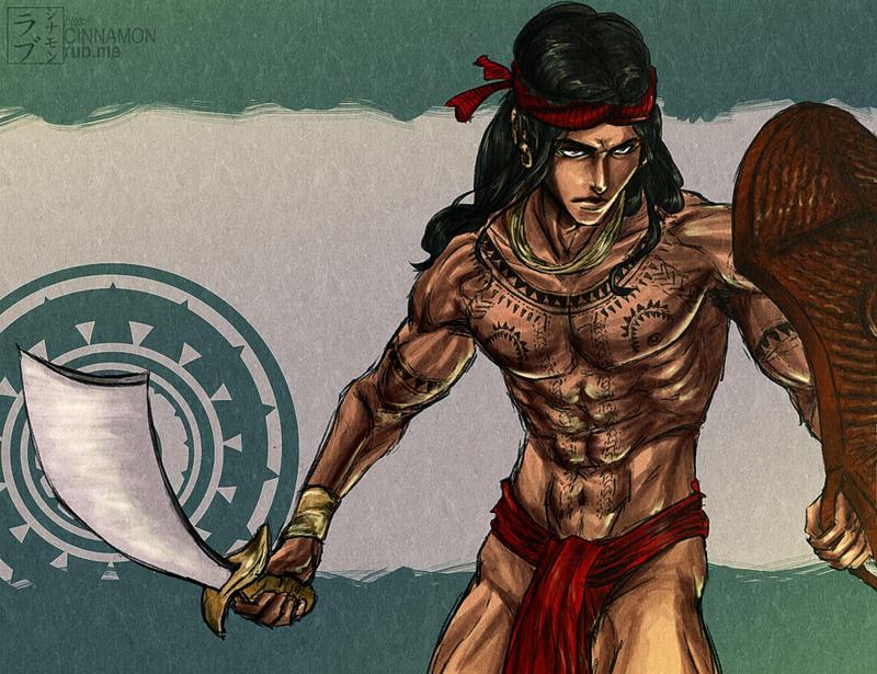 The Hunk of Mactan: Lapu Lapu by scottwuming
