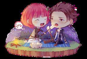 Commission: Mintokei by ecko-kun