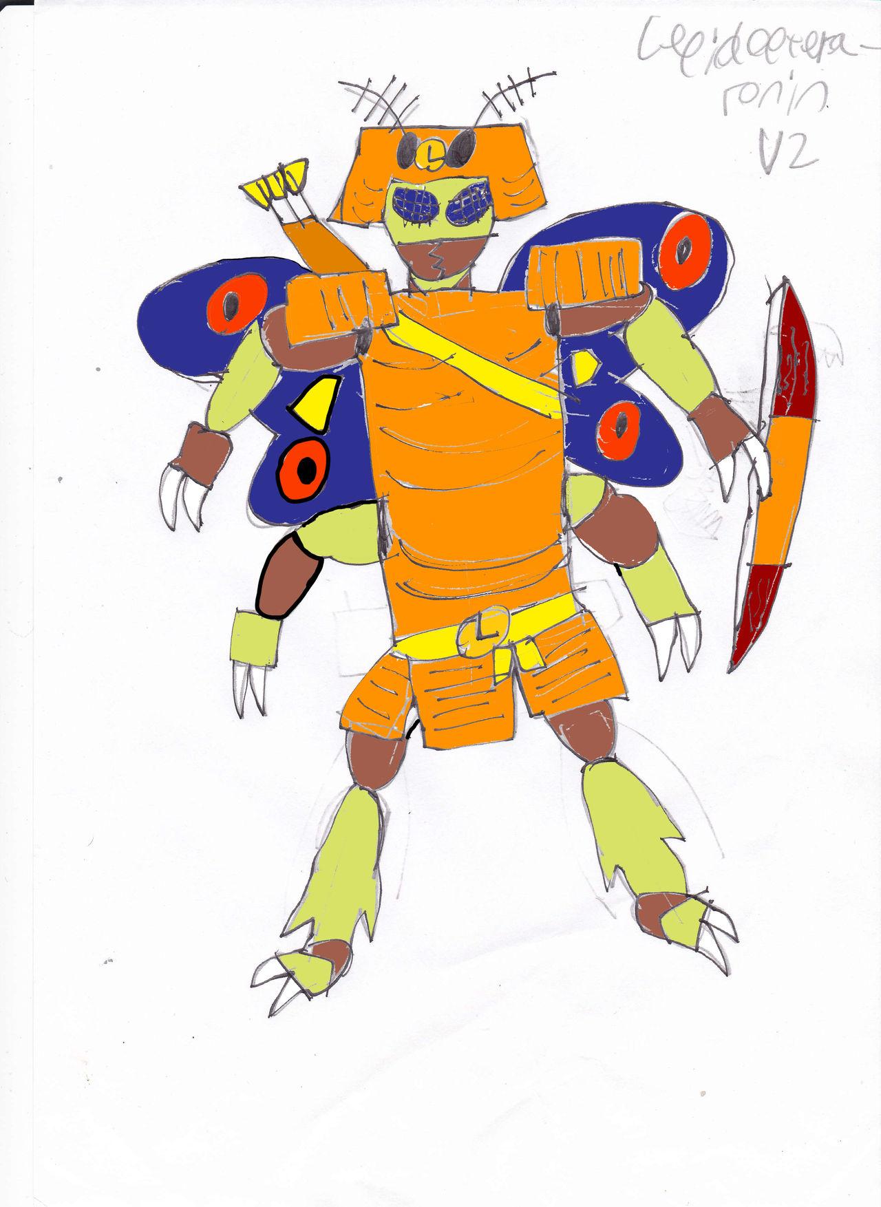 Lepidoptera-ronin