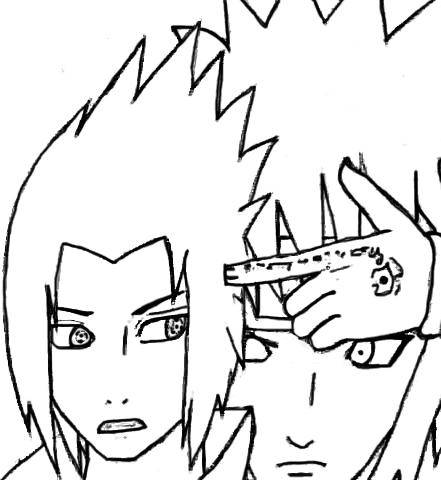 Minato vs Sasuke by