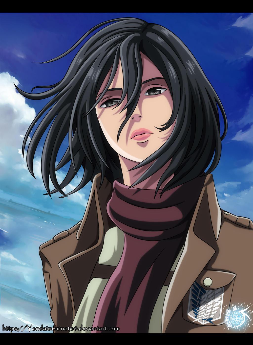 Mikasa Ackerman By Yondaimeminato4 On Deviantart