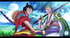 Luffy and Zoro OP 912 [Updated]