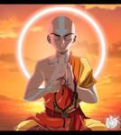 Avatar Aang Meditating