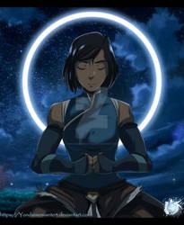 Avatar Korra Meditating