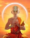 Avatar Aang Meditating [Reworked]