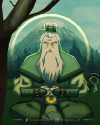 Avatar Salai Meditating