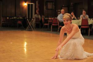 Dancing Bride Gets Down