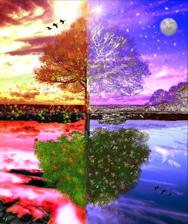 Seasons Change by djerebus