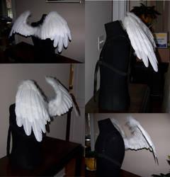 Princess Celestia Wings by SaratoninStudios