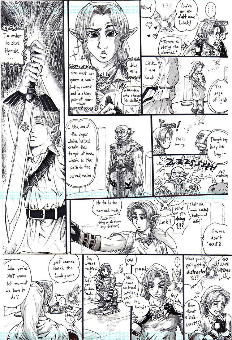 Link's got the magic stick by Genaminna03