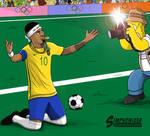 Neymar Jr - Simpsonized