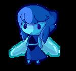 lapis lazuli doll