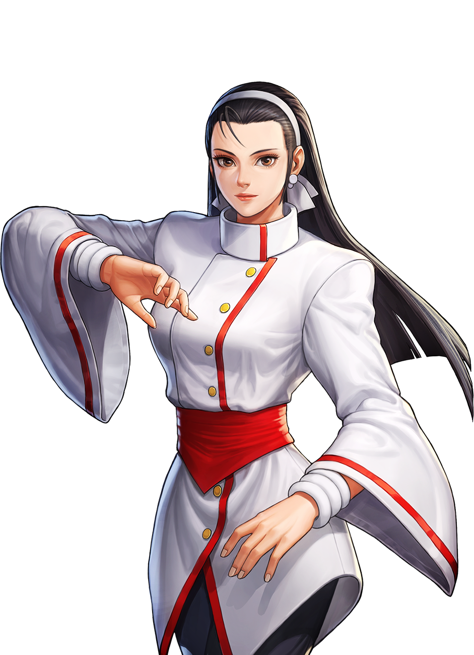 Kof All Star Chizuru Kagura By Abloodyrose 4 Cys On Deviantart