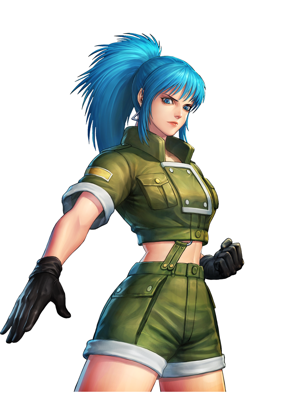 Kof All Star Leona Heidern By Abloodyrose 4 Cys On Deviantart