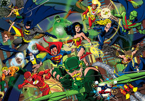 Justice League by EdwardWhatley