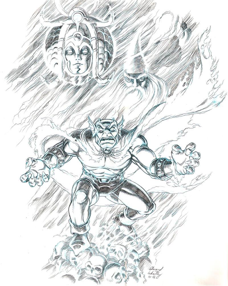 Etrigan the Demon by EdwardWhatley