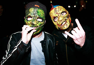 Corey T Wearing My Vol 3 Mask by purplenothing