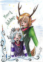 Merry Holidays by WolfsNeverDie