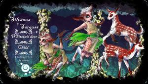 FoE: Silvanus and Sarguss by WolfsNeverDie