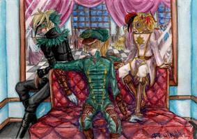 Three guardians by WolfsNeverDie