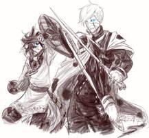 TS: Friendly spar by WolfsNeverDie