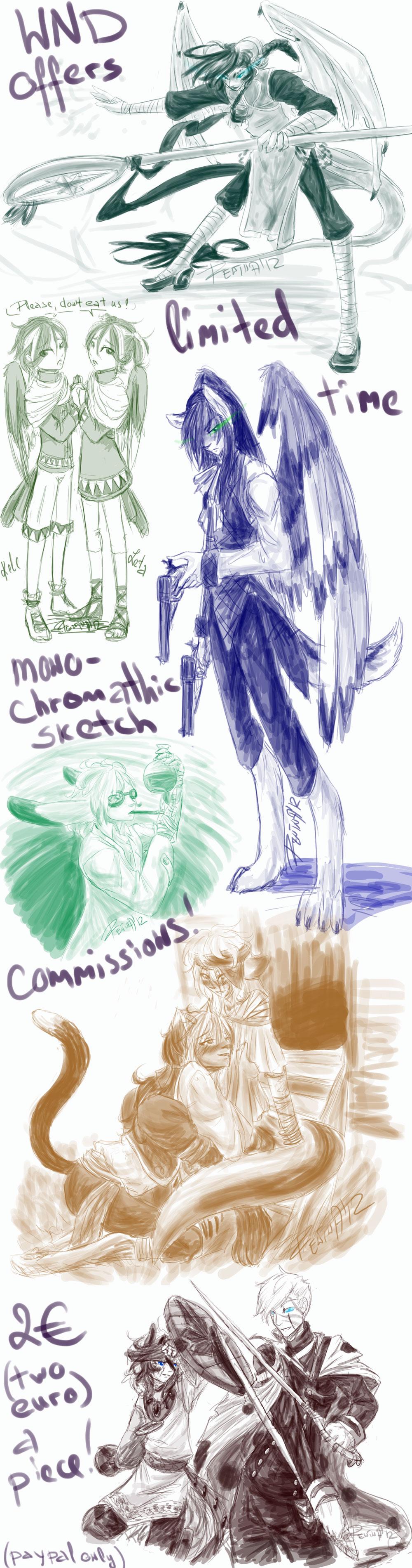 Monochromatic :comm innfo: by WolfsNeverDie
