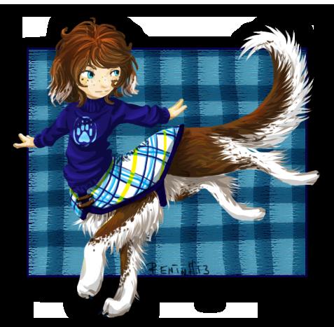 BoF: Chibi taur borzoi by WolfsNeverDie