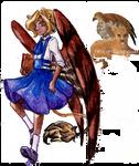 SM: Ariel the little sphinx