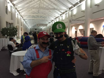 Brother! Rhode Island Comic Con 2015 by djcos25