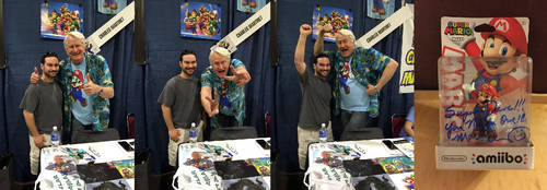 Charles Martinet - Rhode Island Comic Con 2015 by djcos25