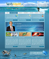 TotallyLiquid.biz site plan by M1LLAH